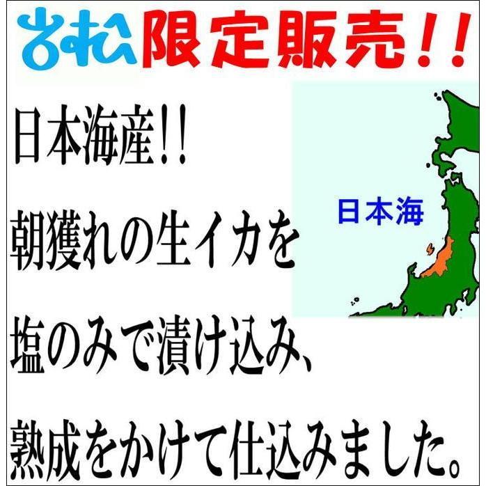 一夜干しイカ4枚 新潟名物 日本海のイカ 送料別 お取り寄せグルメ|iwamatsu-salmon|05