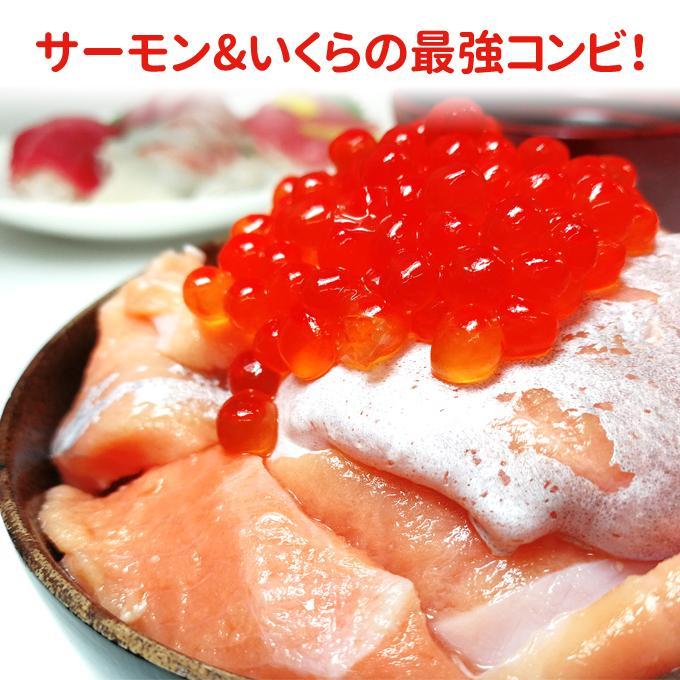 訳あり刺身サーモン切り落とし1kg 500g×2パック 注意:脂強め トラウトサーモンハラス切り落とし 送料無料 お取り寄せグルメ|iwamatsu-salmon|05