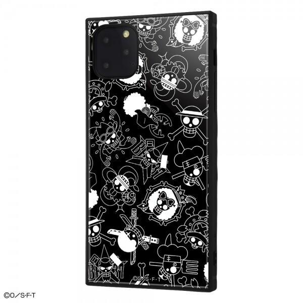 iPhone 11 Pro Max /ワンピース/耐衝撃ハイブリッドケース KAKU /海賊旗マーク IQ-OP22K3TB-OP004|iwatayacom