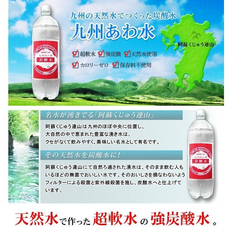 炭酸水 九州あわ水500mlペットボトルx24本 ix-ix 02