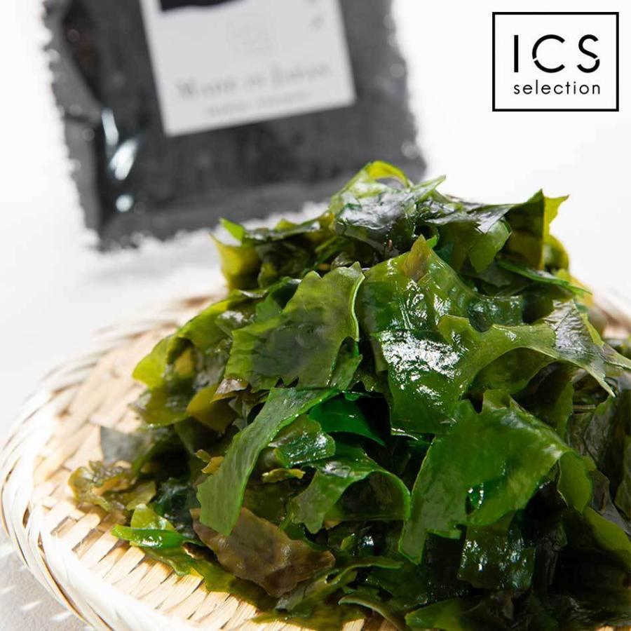 国産熊本県天草産の乾燥カットわかめ100g 海藻 ふえるわかめ メール便送料無料|ix-ix