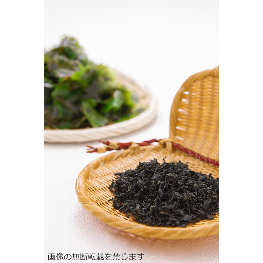 国産熊本県天草産の乾燥カットわかめ100g 海藻 ふえるわかめ メール便送料無料|ix-ix|05