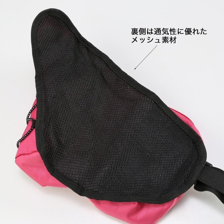 ボトルポーチ 軽量 135g ウエストバッグ ボトルホルダー ランナーポーチ ブラック|ixiru01|03
