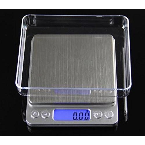薄型 で コンパクト な 小型 卓上 はかり 重量計 3,000g まで 計量 精密 デジタルスケール ixiru01 03