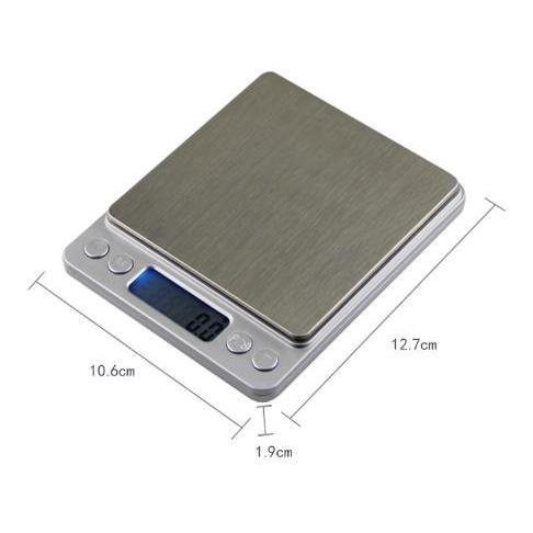 薄型 で コンパクト な 小型 卓上 はかり 重量計 3,000g まで 計量 精密 デジタルスケール ixiru01 04