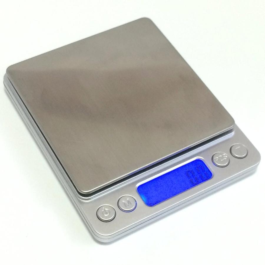 薄型 で コンパクト な 小型 卓上 はかり 重量計 3,000g まで 計量 精密 デジタルスケール ixiru01 05
