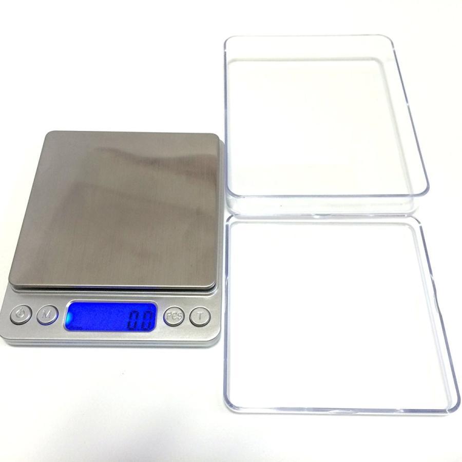 薄型 で コンパクト な 小型 卓上 はかり 重量計 3,000g まで 計量 精密 デジタルスケール ixiru01 06