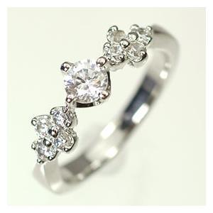 【婚約指輪特集】プラチナ·ダイヤモンド0.3ct(F·VVS·3EX·H&C·鑑定書付) エンゲージリング(婚約指輪)