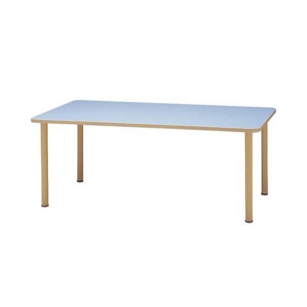 【代引き・同梱不可】サンケイ 長方形テーブル(H700〜750mm) TCA890-ZW TCA890-ZW