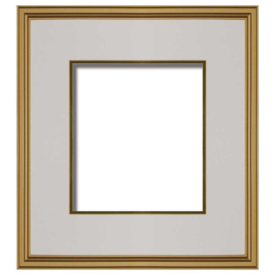 【代引き・同梱不可】金泥和額 色紙額 ガラス 6204