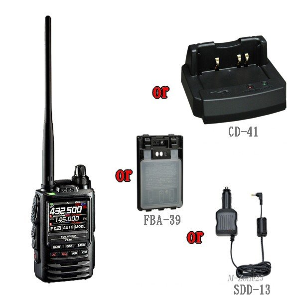 FT3D(Air Band可)とSPS-3Dと選べる1つのオプションのセット YAESU C4FM FDMA 144/430MHz ヤエス 八重洲無線 FT-3D
