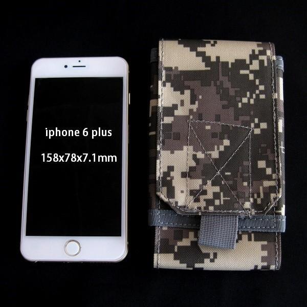 ミリタリー ベルトポーチ / ケース コーデュラ1000ナイロン iphone11 など各種スマートフォン収納 全3色|izumigolf|02