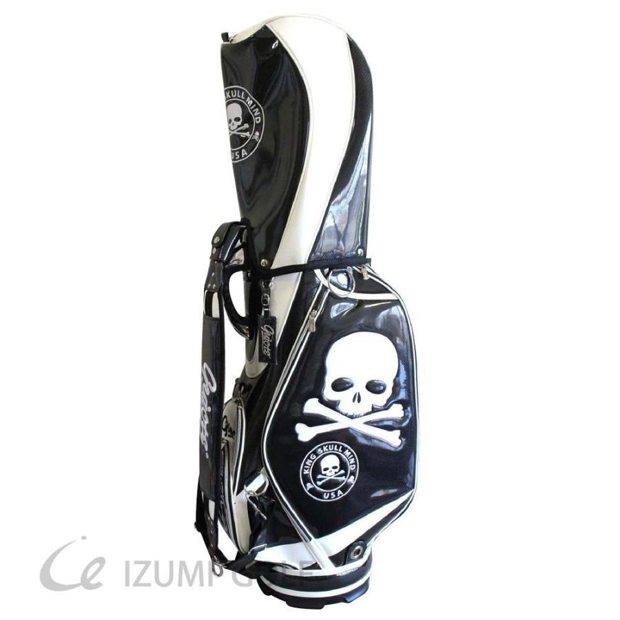 激安な ゴルフ スカル GUIOTE キャディバッグ PUレザー 9.5型 カートタイプ スカル ブラック エナメル PUレザー エナメル, マミーズセレクト:60af048e --- airmodconsu.dominiotemporario.com