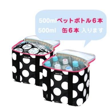 ハンナフラ 保温保冷バッグ クーラーバッグ 各種 500ml ペットボトル6本収納可能 ゴルフ ラウンド 熱中症対策 水分補給 izumigolf 03