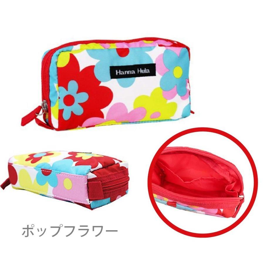 ハンナフラ シングルファスナーポーチ ミニポーチ コスメポーチ 化粧ポーチ ゴルフ ラウンド|izumigolf|02