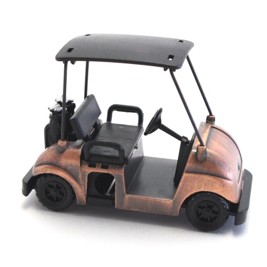 ペンシルシャープナー / 鉛筆削り ゴルフカート Golf Cart 文房具 置物 カラー:ブロンズ |izumigolf|02