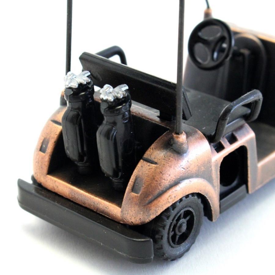 ペンシルシャープナー / 鉛筆削り ゴルフカート Golf Cart 文房具 置物 カラー:ブロンズ |izumigolf|04