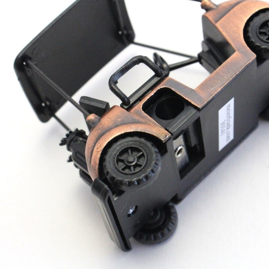 ペンシルシャープナー / 鉛筆削り ゴルフカート Golf Cart 文房具 置物 カラー:ブロンズ |izumigolf|05