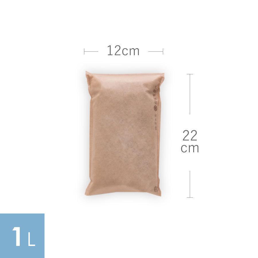 炭八 除湿 消臭 結露 対策に 収納おまかせ16個セット 出雲屋炭八・調湿木炭 12L 送料無料|izumohinoki|12