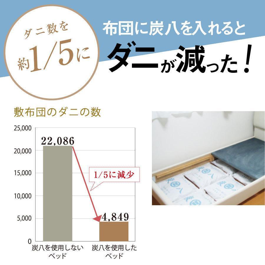 炭八 除湿 消臭 結露 対策に 収納おまかせ16個セット 出雲屋炭八・調湿木炭 12L 送料無料|izumohinoki|09