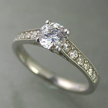 素晴らしい品質 婚約指輪 安い プラチナ ダイヤモンド 0.5カラット 鑑定書付 0.57ct Dカラー VS1クラス 3EXカット GIA, GALLERIA da0377ed