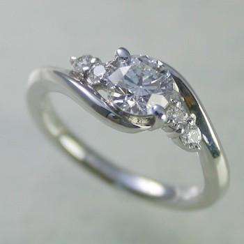 クラシック 婚約指輪 安い プラチナ ダイヤモンド 0.7カラット 鑑定書付 0.71ct Dカラー VS2クラス 3EXカット GIA, モリカ d5554162