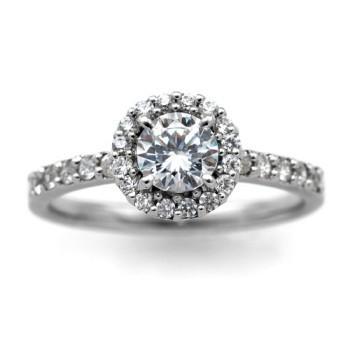 【メーカー包装済】 婚約指輪 安い プラチナ ダイヤモンド 0.6カラット 鑑定書付 0.61ct Dカラー SI2クラス 3EXカット GIA, キッチンガーデン 078ab67a
