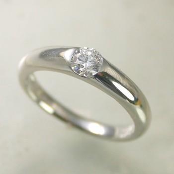 逆輸入 婚約指輪 安い エンゲージリング プラチナ ダイヤモンド 0.4カラット 鑑定書付 0.41ct Eカラー SI1クラス 3EXカット GIA, ゴルフハウス はかた家 8297fbe8