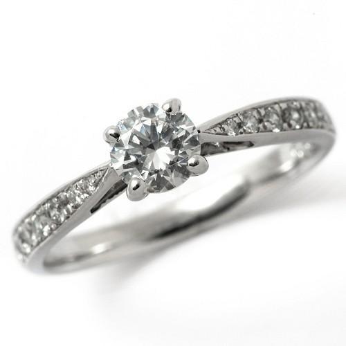 お気に入りの エンゲージリング ダイヤモンド 安い プラチナ 0.3カラット 鑑定書付 0.324ct Fカラー SI2クラス 3EXカット CGL 通販, Momo Select 2391e3f0