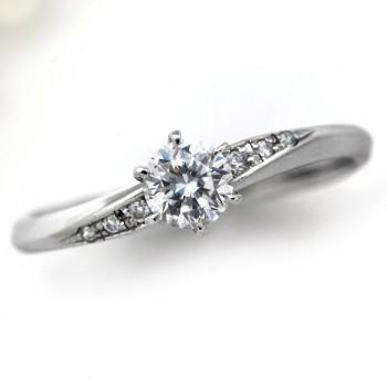 2019特集 婚約指輪 シンプル 安い プロポーズ用 エンゲージリング ダイヤモンド 0.2カラット プラチナ 鑑定書付 0.256ct Fカラー SI2クラス 3EXカット H&C CGL, 通販ライフ ccb725ed