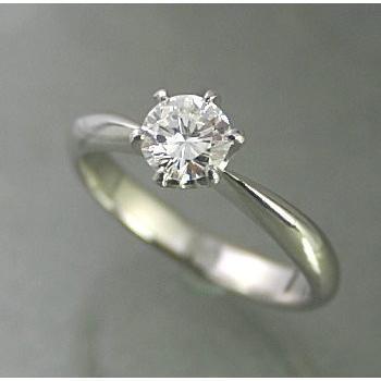 最安値に挑戦! エンゲージリング ダイヤモンド 安い プラチナ 0.4カラット 鑑定書付 0.427ct Gカラー SI1クラス 3EXカット CGL, KANERIN 2198478d