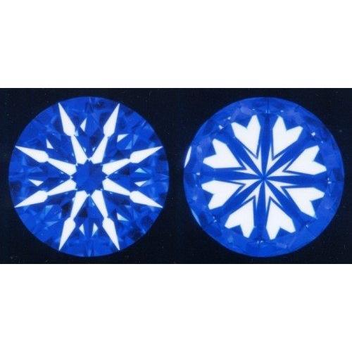 激安通販新作 ダイヤモンド ルース 安い 0.5カラット 鑑定書付 0.548ct Gカラー SI1クラス 3EXカット H&C CGL, ナチュラル雑貨エッセンス 987cbd93