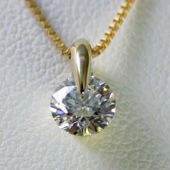 柔らかな質感の ダイヤモンド 一粒 ネックレス ゴールド 0.2カラット 鑑定書付 ネックレス 0.234ct CGL Dカラー 0.234ct IFクラス 3EXカット H&C CGL, リセプト インテリア:ec336590 --- airmodconsu.dominiotemporario.com
