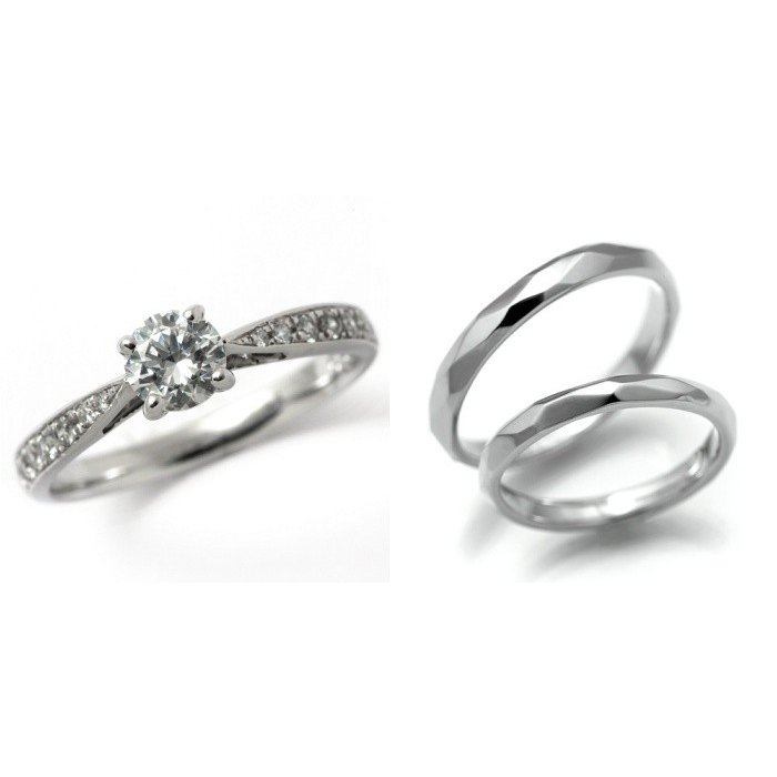 【今日の超目玉】 婚約指輪 H&C 結婚指輪 セットリング 安い ダイヤモンド Eカラー プラチナ ダイヤモンド 0.2カラット 鑑定書付 0.285ct Eカラー VS2クラス 3EXカット H&C CGL, GARAGE COLLECTION:2d089cff --- chizeng.com