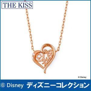 ネックレス ディズニー アリス・イン・ワンダーランド 時間の旅 THE KISS シルバー レディース40cm ダイヤモンド DI-SN1837DM|j-kimura