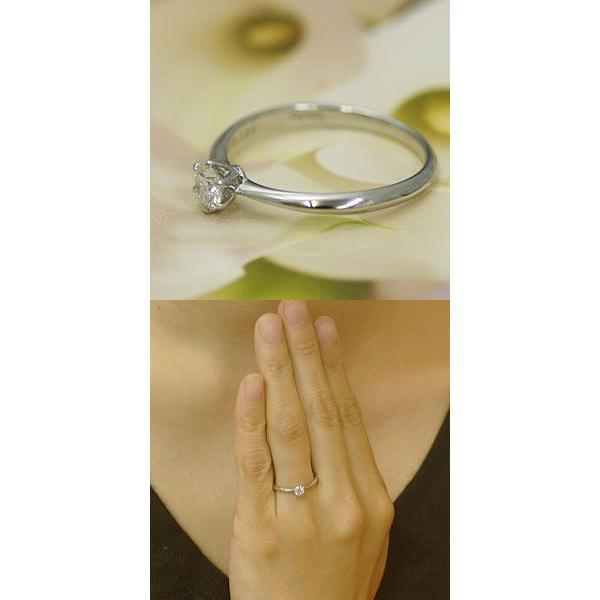 婚約指輪 ダイヤモンド エンゲージリング プラチナ 0.2カラット Hカラー Si2 GOOD  婚約指輪 鑑定付 大粒|j-kimura|04