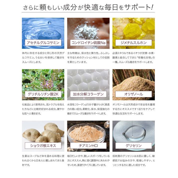 塗るグルコサミン コンドロイチン クリーム あゆみEXマイルド 100g 約30日分|j-medix|14