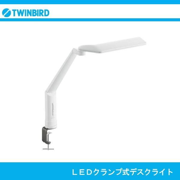TWINBIRD ツインバード LEDクランプ式デスクライト LEDクランプ式デスクライト LE-H635W