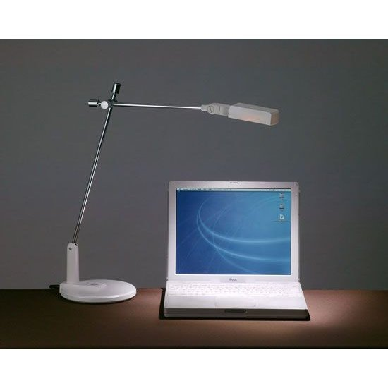 LeDart ハイパワーLED デスクライト LD-1 WH ホワイト(YT7004WH)