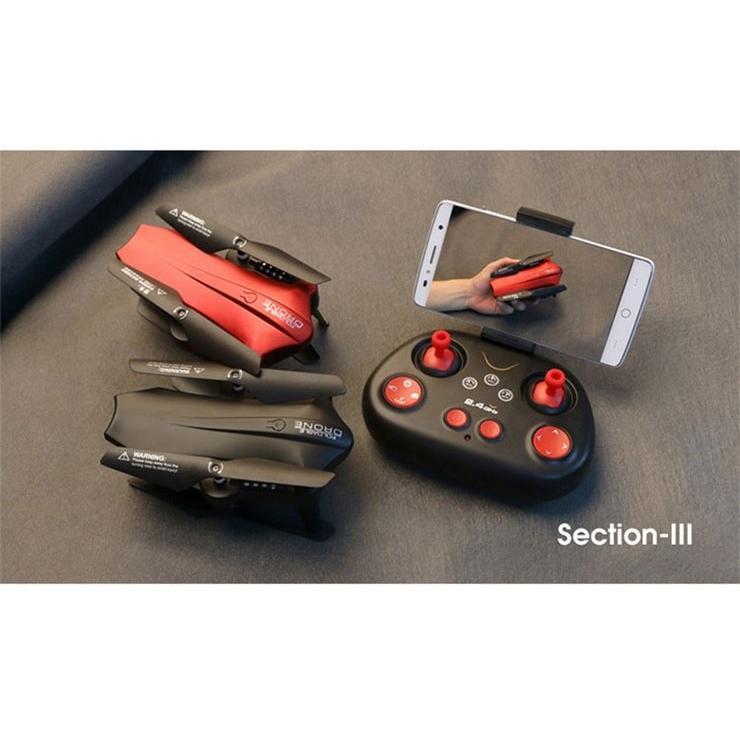 SDカード対応 折りたたみドローン L6060 L6060W Wifi FPV 2MP 120° FOV 広角 カメラ 高度ホールド Gセンサーモード RC クアッドコプター RTF 2.4GHz