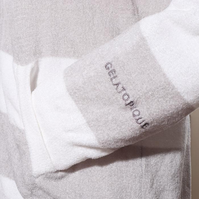 ジェラートピケ gelato pique ルームウェア レディース 夏 羽織り パーカー 長袖 トップス パジャマ/room jack-o-lantern 10