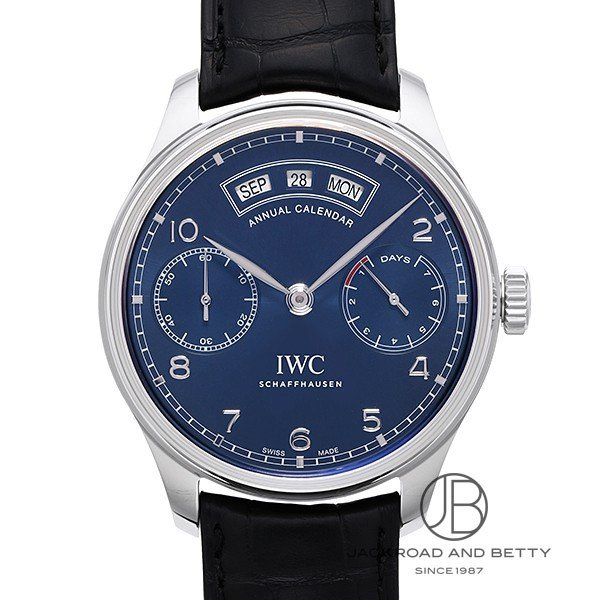 経典 IWC IWC ポルトギーゼ アニュアルカレンダー IW503502  時計 メンズ, D-STIMMER 75b4893d