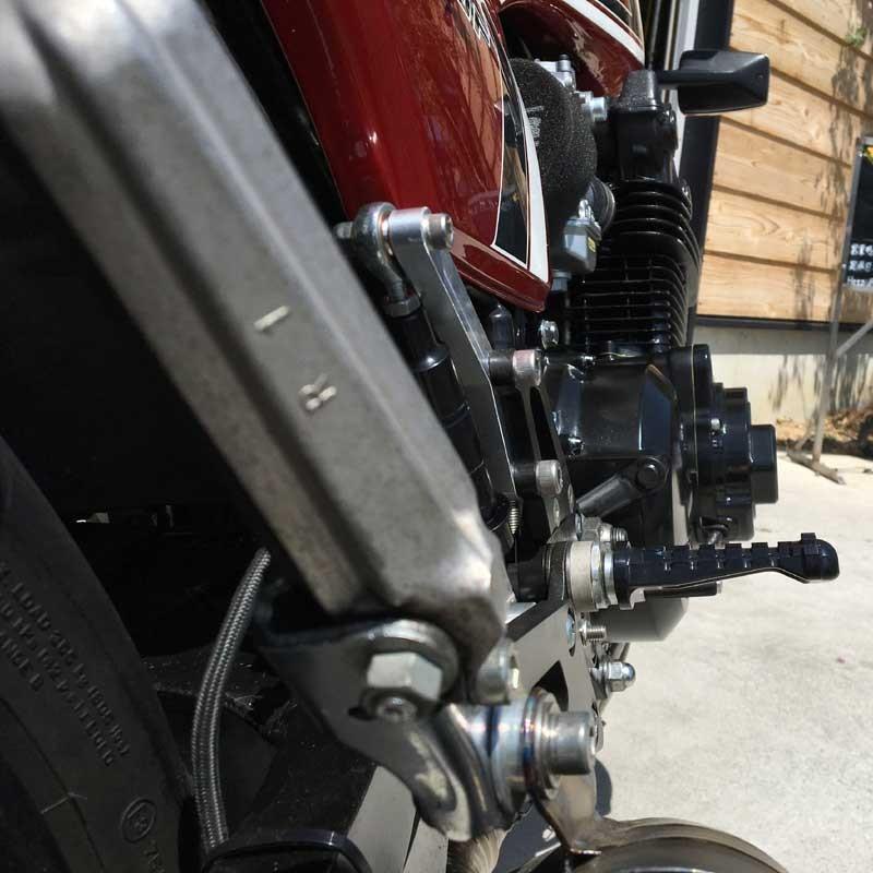 CB750/900/1100F 薄型ジェネレータカバー ブラック 専用ステータコイル付属 A2017削り出し HONDA ホンダ |jagerlauft|03
