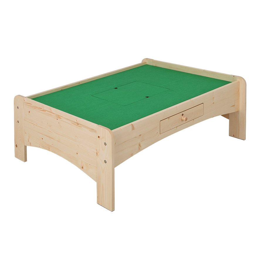 天然木キッズ nico プレイテーブル 幅120cm キッズコーナー おうち遊び 木製 北欧|jajan-a|13