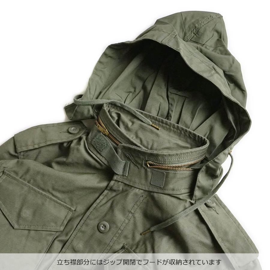 アルファ インダストリーズ ALPHA M-65 フィールドジャケット BIG SIZE 大きいサイズ M65 FIELD JACKET INDUSTRIES jalana 11