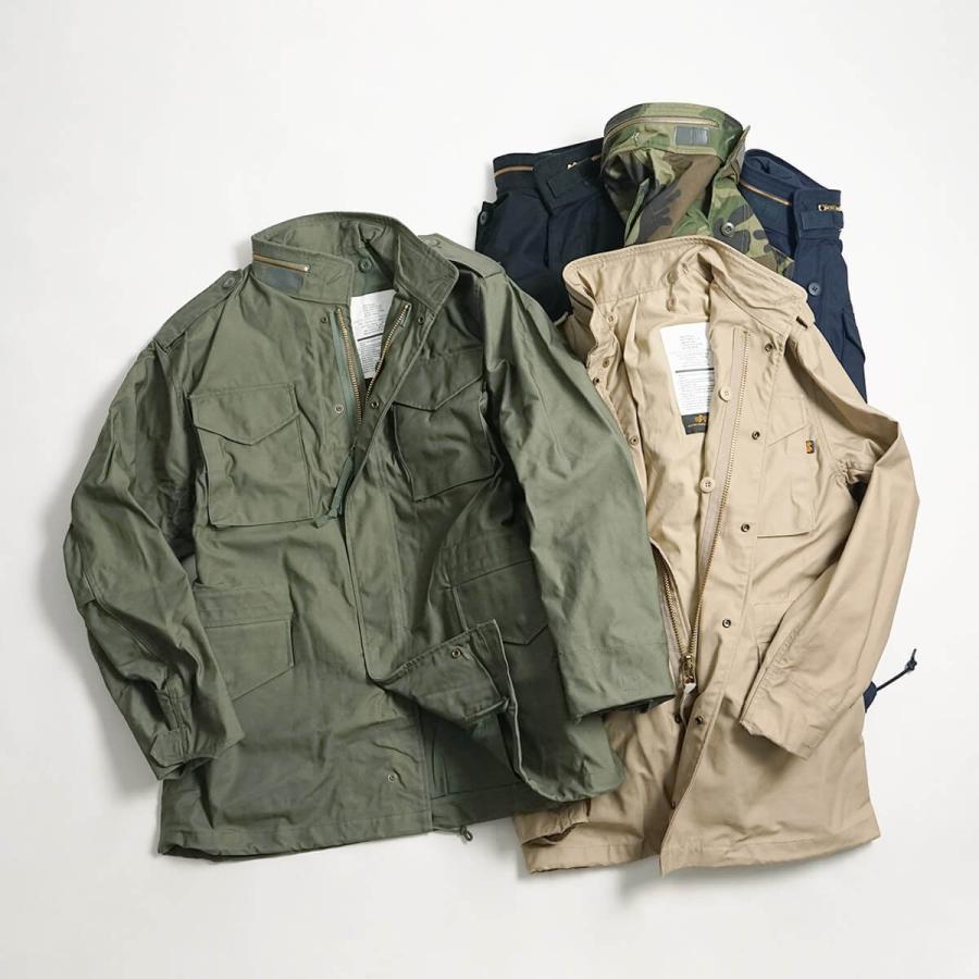 アルファ インダストリーズ ALPHA M-65 フィールドジャケット BIG SIZE 大きいサイズ M65 FIELD JACKET INDUSTRIES jalana 16