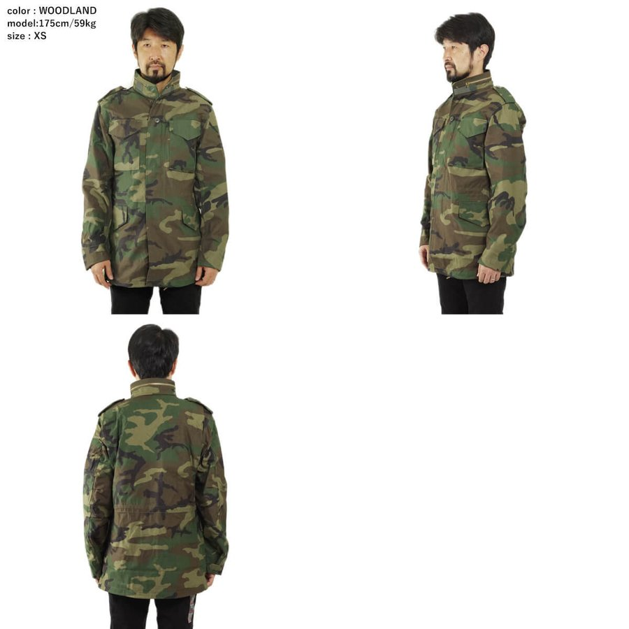 アルファ インダストリーズ ALPHA M-65 フィールドジャケット BIG SIZE 大きいサイズ M65 FIELD JACKET INDUSTRIES jalana 03