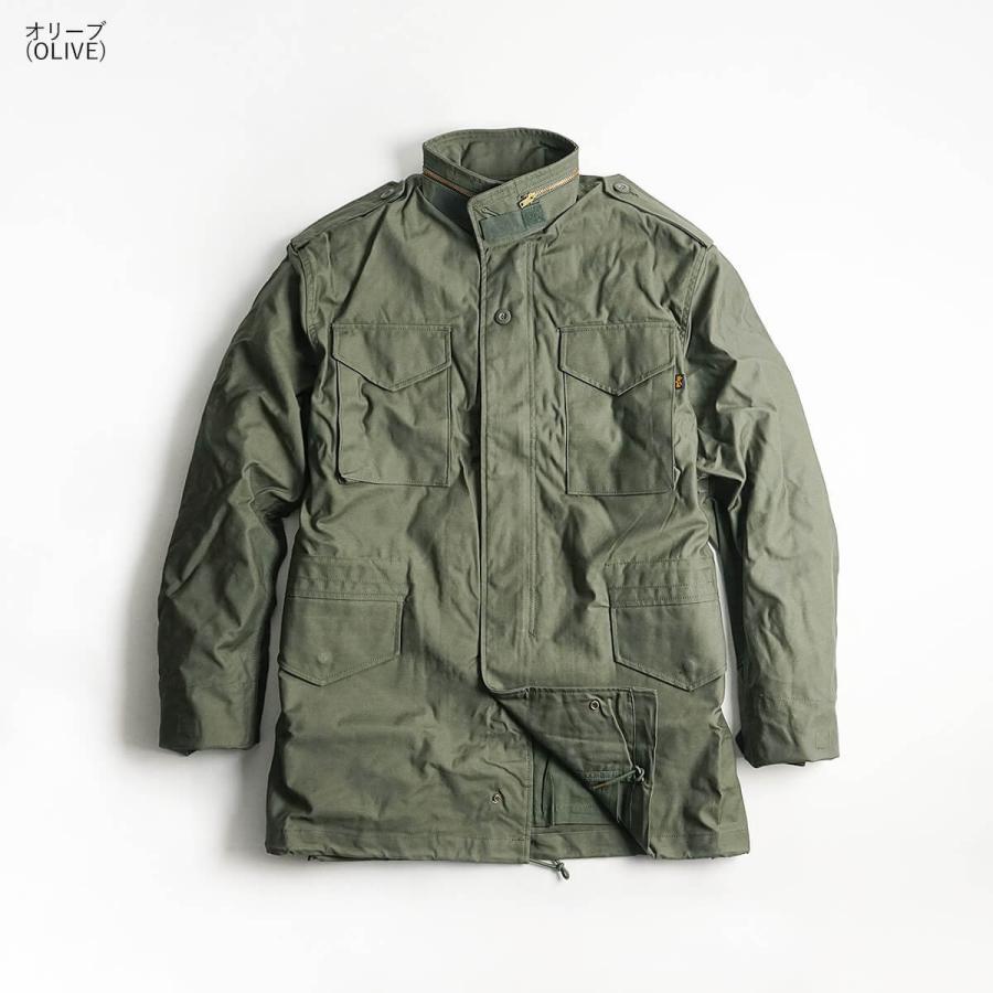 アルファ インダストリーズ ALPHA M-65 フィールドジャケット BIG SIZE 大きいサイズ M65 FIELD JACKET INDUSTRIES jalana 04