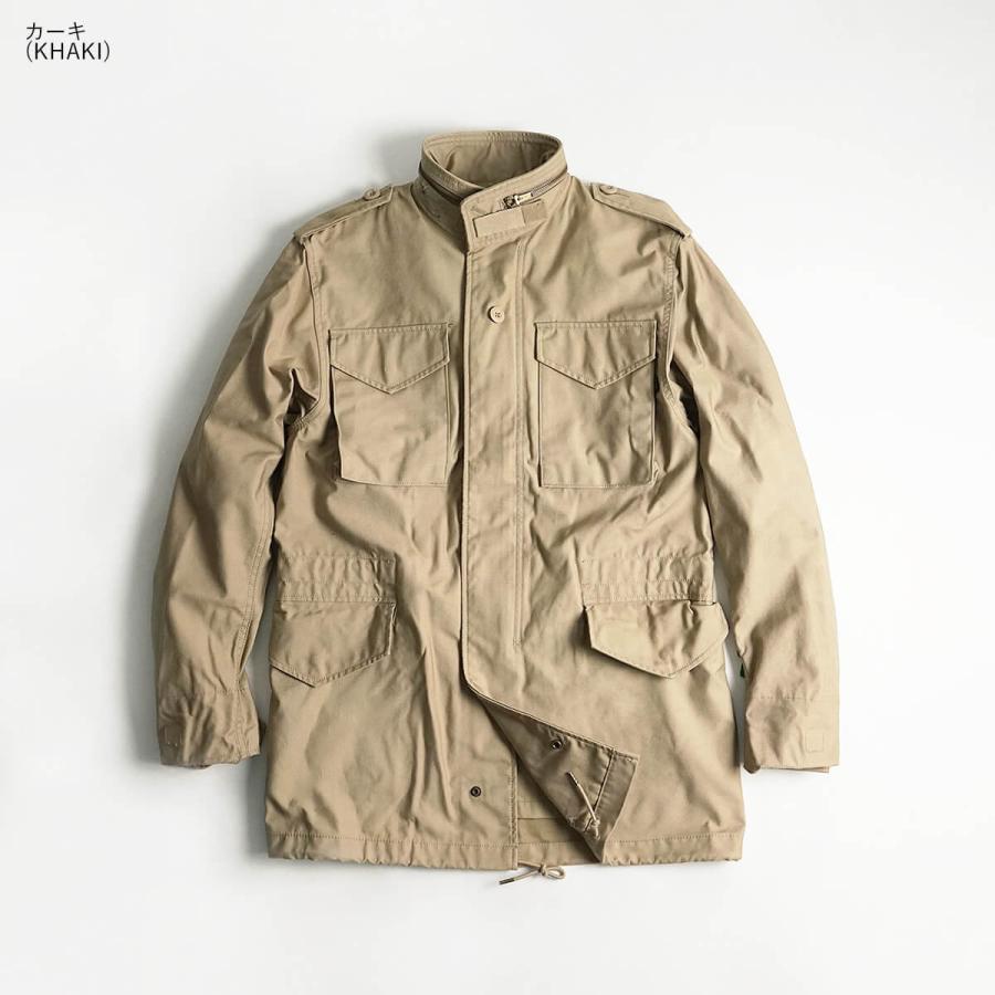 アルファ インダストリーズ ALPHA M-65 フィールドジャケット BIG SIZE 大きいサイズ M65 FIELD JACKET INDUSTRIES jalana 07