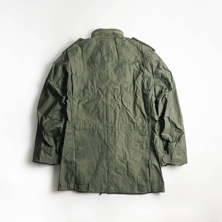 アルファ インダストリーズ ALPHA M-65 フィールドジャケット BIG SIZE 大きいサイズ M65 FIELD JACKET INDUSTRIES jalana 09